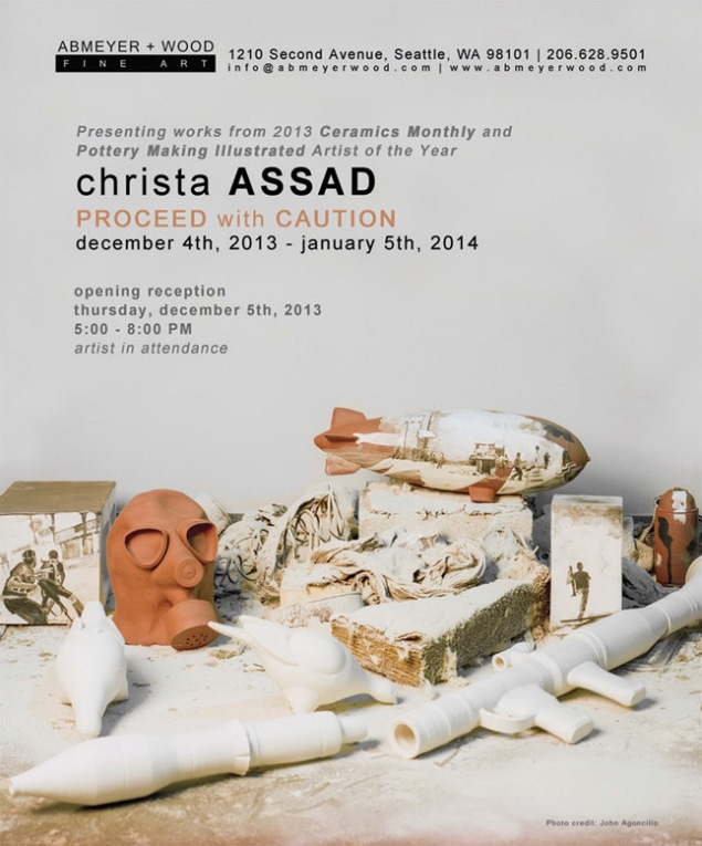 Christa Assad Solo Exhibition to open at Abmeyer + Wood Fine Art, Dec. 5